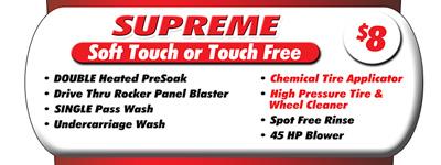 supreme car wash